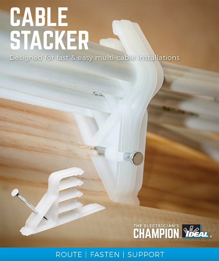 Ideal Cable Stacker